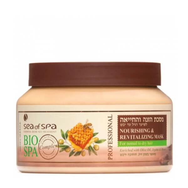 Sea of Spa Маска увлажняющая и питательная для норм/сухих волос с маслом Оливы, Жожоба и медом, 500 млFS-00897- заметно улучшает качество сухих волос с секущимися кончиками, предотвращает ломкость; - натуральные масла «упаковывают» волос в тончайшую пленку, защищающуют от пересыхания и воздействий окружающей среды, быстрого загрязнения; - эффекта блестящих и ухоженных волос хватает на неделю, при этом они не утяжеленные, а легкие и воздушные.