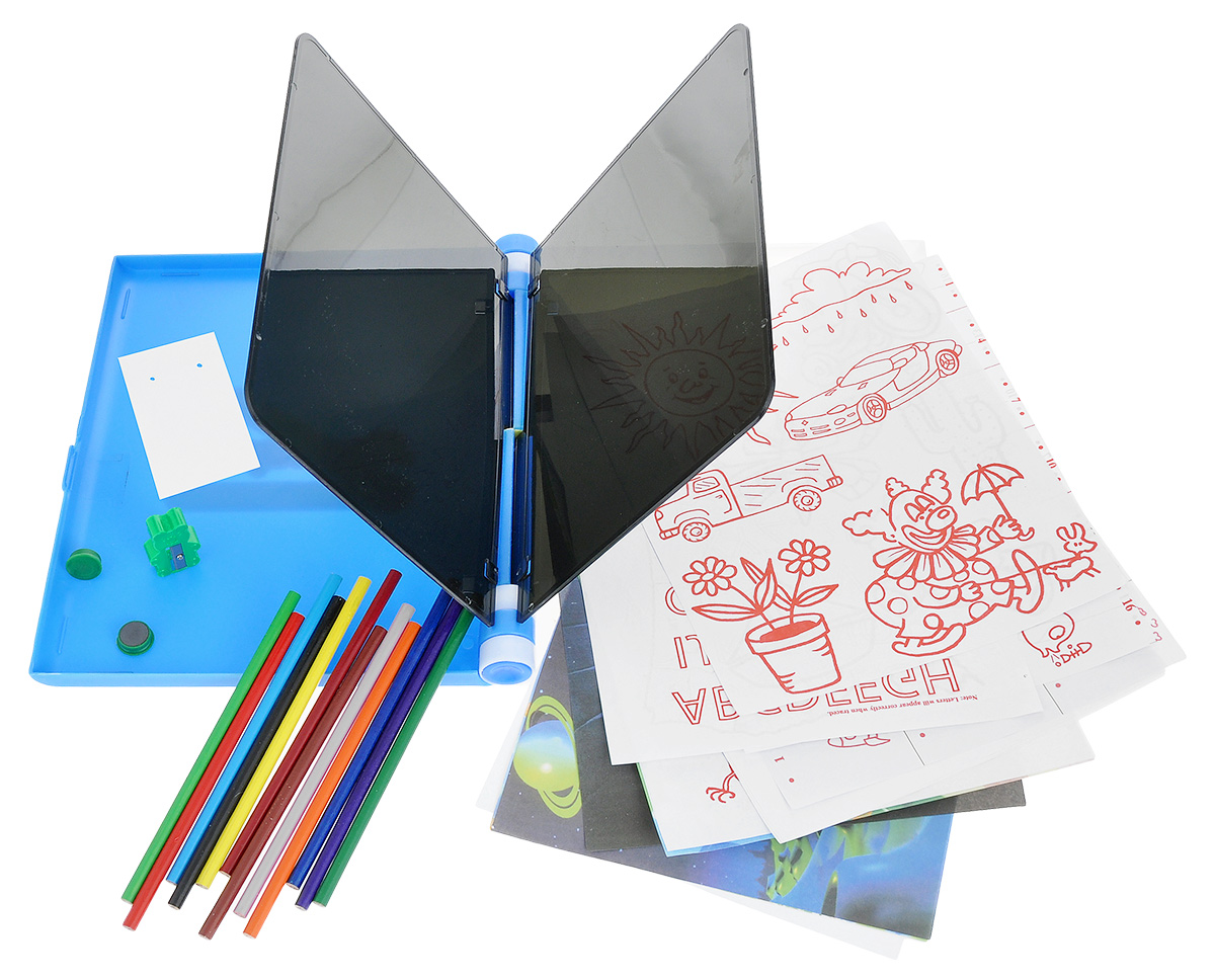 """Планшет для рисования Bradex """"Леонардо"""", изготовленный из пластика, поможет вашему ребенку в развитии творчества и познании окружающего мира. Рисование - одно из средств познания ребенком окружающего мира и важнейший инструмент творческой деятельности вашего малыша. Данный планшет действует по принципу проектора, с максимальной точностью переносящего на лист бумаги все контуры изображения. Ключевые особенности: - Способствует комплексному развитию ребенка: развивает любознательность, эстетическое восприятие, мелкую моторику и владение кистью руки, - Помогает развивать чувство цвета, ориентацию в пространстве, а также дает отличную возможность познания вашим ребенком окружающего мира, - Идеально подходит как для домашнего занятия, так и для обучения рисованию и прочих дидактических занятий в детском саду или младшей школе."""
