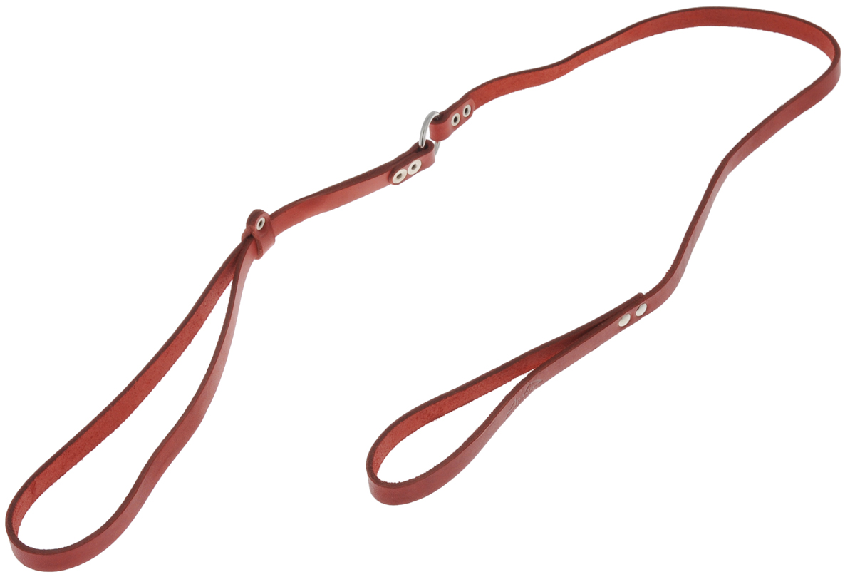 Ринговка для собак Аркон Стандарт, цвет: красный, ширина 1,2 см, длина 110 смок15_серыйРинговка Аркон Стандарт - это специальный поводок, состоящий из петли с фиксатором и, собственно, поводка. Выполнена из натуральной кожи, фурнитура - из высококачественного металла. Ринговка является самым распространенным видом амуниции для показа собаки на выставке или занятий рингдрессурой. Ринговку подбирают в тон окраса собаки, если собака пятнистая - то в тон преобладающего окраса или, наоборот, контрастную. Максимальный обхват шеи: 63 см.Ширина: 1,2 см.Длина: 110 см.