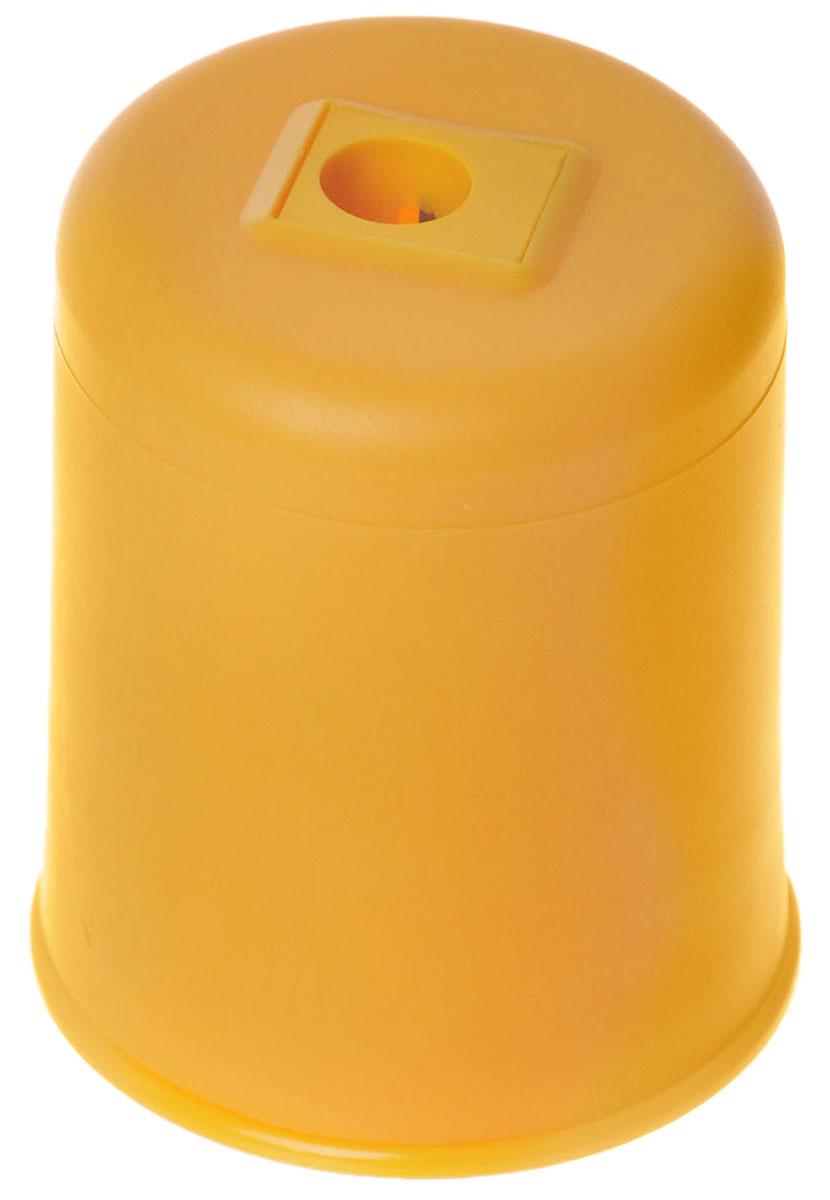 Kum Точилка Pod Ice с контейнером цвет желтый72523WDУдобная точилка Kum Pod Ice в пластиковом корпусе с крышкой предназначена для затачивания карандашей. Острое стальное лезвие обеспечивает высококачественную и точную заточку. Карандаш затачивается легко и аккуратно, а опилки после заточки остаются в специальном контейнере повышенной вместимости.