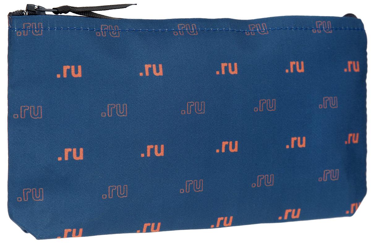 Косметичка ОРЗ-Дизайн Ru, цвет: синий. Орз-0340ERJAA03224-WBT0Косметичка ОРЗ-Дизайн Ru выполнена из текстиля и оформлена оригинальным авторским принтом.Изделие содержит одно основное отделение, которое закрывается на застежку-молнию.Женская косметичка - это стильный и полезный аксессуар для любой современной модницы. В косметичке поместится вся необходимая косметика, а благодаря компактным размерам ее всегда можно носить с собой в сумочке.