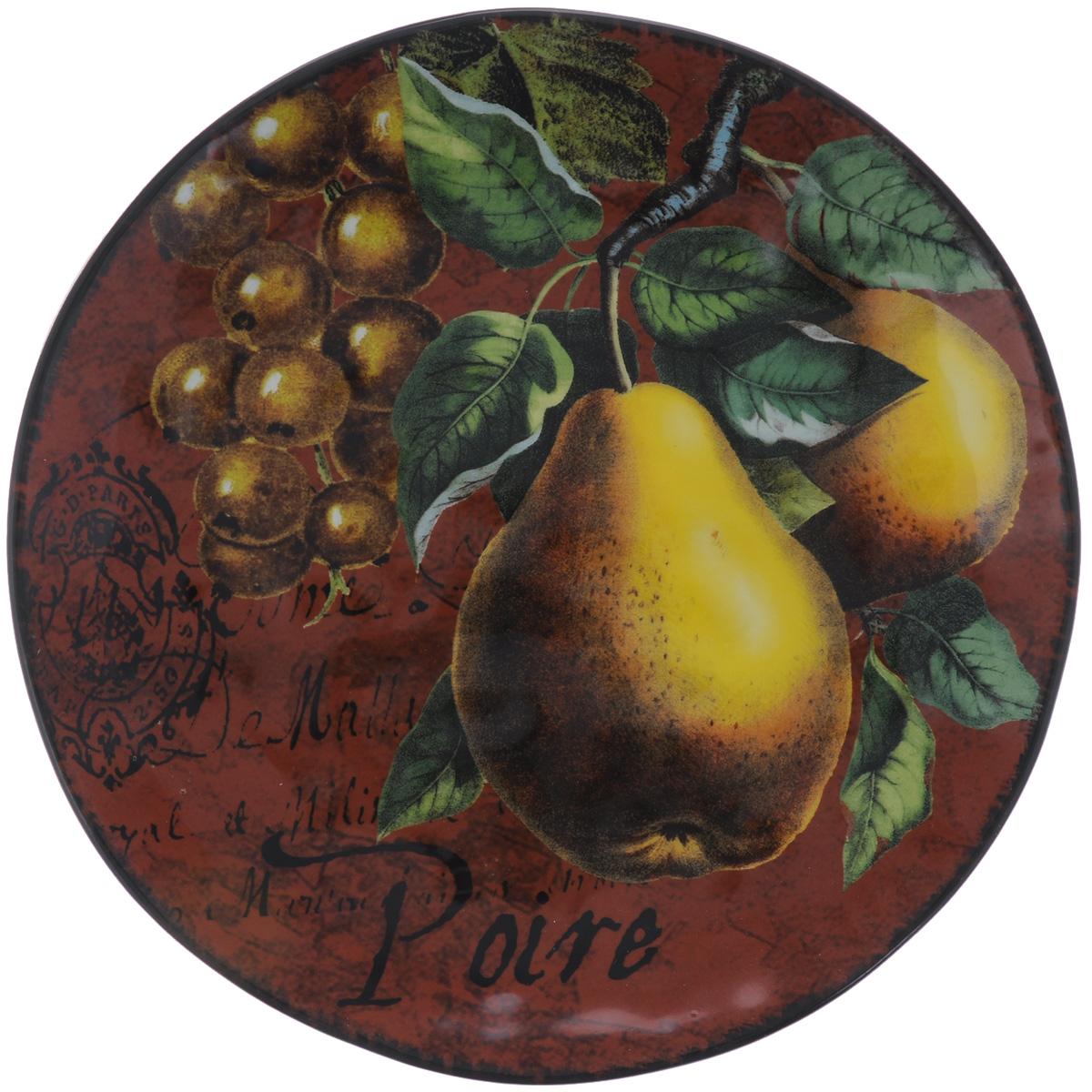 Тарелка десертная Certified International Груши, диаметр 22 смFS-91909Десертная тарелка Certified International Груши, изготовленная из высококачественной керамики, декорирована изящным рисунком. Она подойдет как для торжественных случаев, так и для повседневного использования. Тарелка Certified International Груши идеальна для подачи десертов, пирожных, тортов и многого другого. Она прекрасно оформит стол и станет отличным дополнением к вашей коллекции кухонной посуды. Диаметр тарелки (по верхнему краю): 22 см.