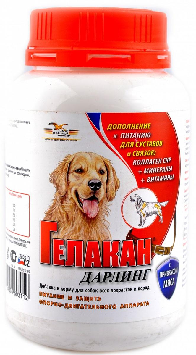 Добавка к корму для собак Гелакан Дарлинг, 150 г белковая добавка для животных г иркутск