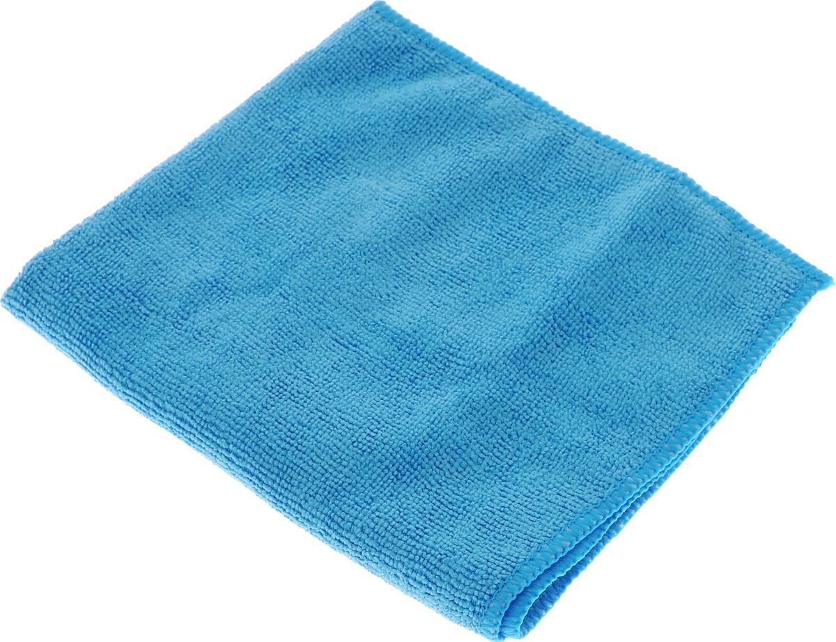 Салфетка чистящая Sapfire Cleaning Сloth, цвет: голубой, 35 х 40 смK100Благодаря своей уникальной ворсовой структуре, салфетка Sapfire Cleaning Сloth прекрасно подходит для мытья и полировки автомобиля.Материал салфетки: микрофибра (85% полиэстер и 15% полиамид), обладает уникальной способностью быстро впитывать большой объем жидкости. Клиновидные микроскопические волокна захватывают и легко удерживают частички пыли, жировой и никотиновый налет, микроорганизмы, в том числе болезнетворные и вызывающие аллергию. Салфетка великолепно удаляет пыль и грязь. Протертая поверхность становится идеально чистой, сухой, блестящей, без разводов и ворсинок. Микрофибра устойчива к истиранию, ее можно быстро вернуть к первоначальному виду с помощью машинной стирки при малом количестве моющих средств. Состав: 85% полиэстер, 15% полиамид.Размер салфетки: 35 х 40 см.