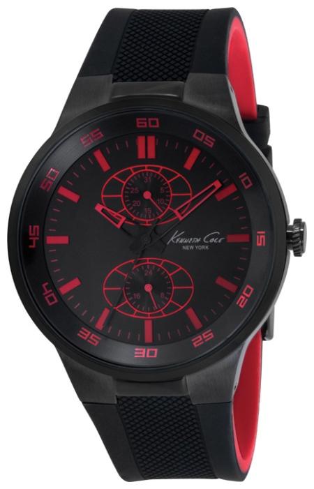 Часы мужские наручные Kenneth Cole Dress Sport, цвет: черный. IKC8033BM8434-58AEЧасы наручные Kenneth Cole IKC8033Водостойкость: 30м (3 АТМ)