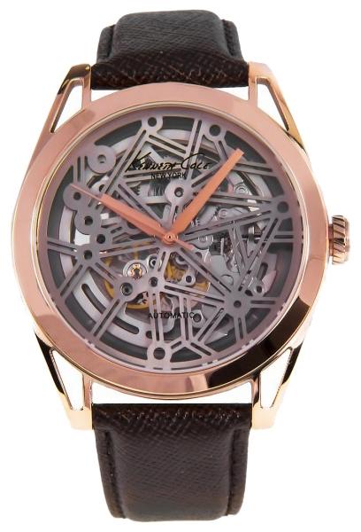 Часы мужские наручные Kenneth Cole Automatics, цвет: коричневый. IKC8082BM8434-58AEЧасы наручные Kenneth Cole IKC8082Водостойкость: 30м (3 АТМ)