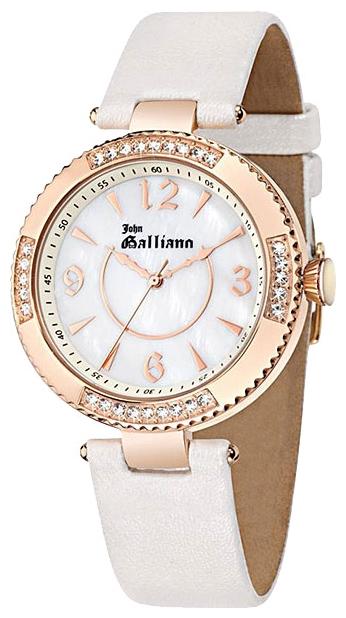 Часы женские наручные Galliano The Refined, цвет: белый. R2553123504BM8434-58AEЧасы наручные Galliano R2553123504Водостойкость: 30м (3 АТМ)
