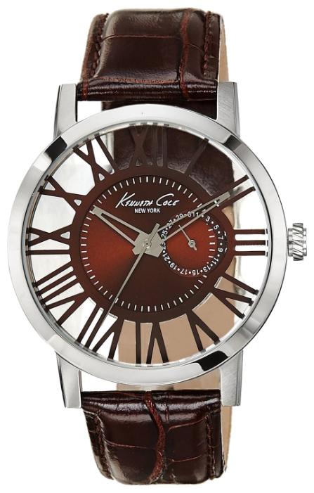 Наручные часы мужские Kenneth Cole Transparency, цвет: серый. 10020811BM8434-58AEЧасы наручные Kenneth Cole 10020811