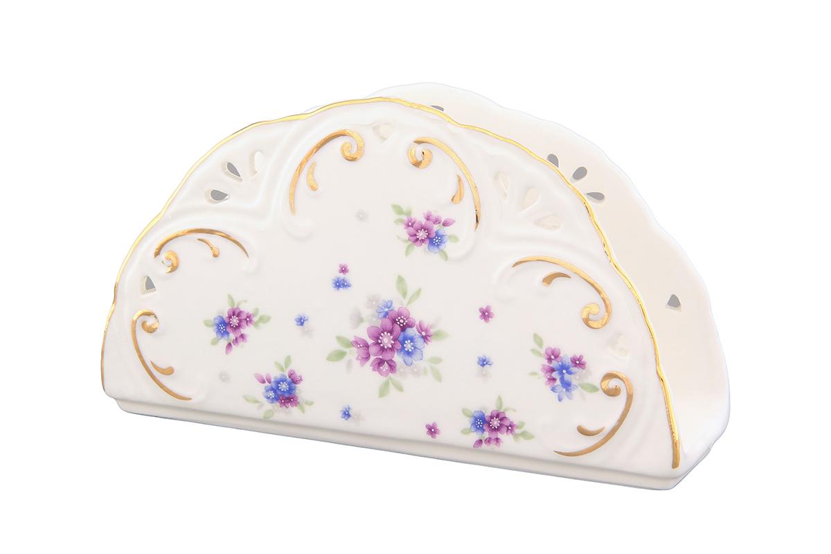 Салфетница Elan Gallery Сиреневый туман, 14 х 4 х 8 см115510Салфетница Elan Gallery Сиреневый туман изготовлена из высококачественной керамики и оформлена оригинальным рисунком. Она сочетает в себе изысканный дизайн с максимальной функциональностью. Компактная и в то же время вместительная салфетница станет не только украшением любого стола, но и отличным подарком.
