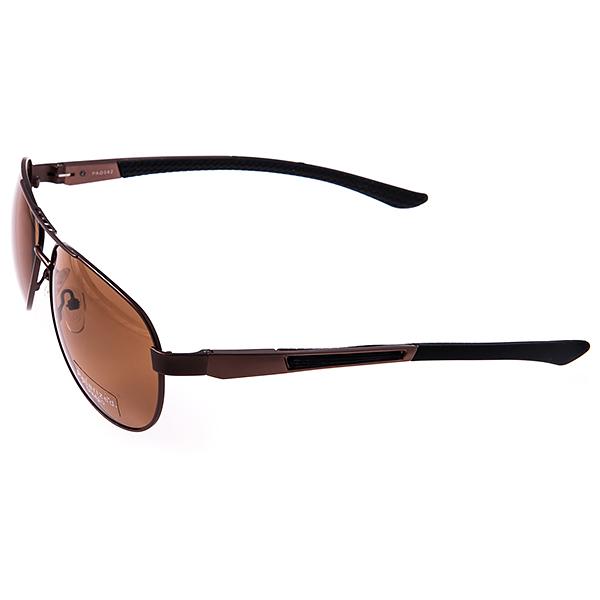 Солнцезащитные очки Selena, цвет: коричневый. 80031691INT-06501Универсальные солнцезащитные очки Selena выполнены из металла с элементами из силикона и высококачественного пластика.Линзы данных очков с высокоэффективным поляризационным покрытием и фильтром UV400блокируют слепящий эффект и обеспечивают полную защиту от ультрафиолетовых лучей. Используемый пластик не искажает изображение, не подвержен нагреванию и вредному воздействию солнечных лучей. Дужки дополнены покрытием из силикона, что обеспечит максимальный комфорт.Такие очки защитят глаза от ультрафиолетовых лучей, подчеркнут вашу индивидуальность и сделают ваш образ завершенным.