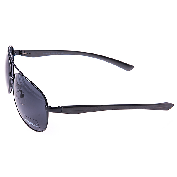 Солнцезащитные очки Selena, цвет: серый. 80031701INT-06501Универсальные солнцезащитные очки Selena выполнены из металла с элементами из высококачественного пластика.Линзы данных очков с высокоэффективным поляризационным покрытием блокируют слепящий эффект и обеспечивают полную защиту от ультрафиолетовых лучей. Используемый пластик не искажает изображение, не подвержен нагреванию и вредному воздействию солнечных лучей.Такие очки защитят глаза от ультрафиолетовых лучей, подчеркнут вашу индивидуальность и сделают ваш образ завершенным.