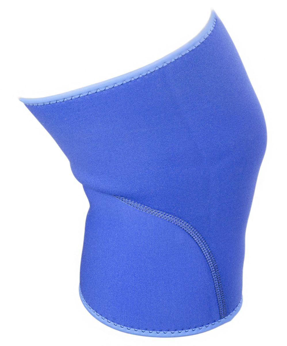Суппорт колена Starfit, цвет: синий. SU-501AIRWHEEL M3-162.8Суппорт колена SU-501, синий-это эластичный согревающий наколенник от популярного австралийского брендаStar Fit.Суппорт SU-501обеспечивает поддержку коленного сустава и помогает избежать травмы при нагрузках.