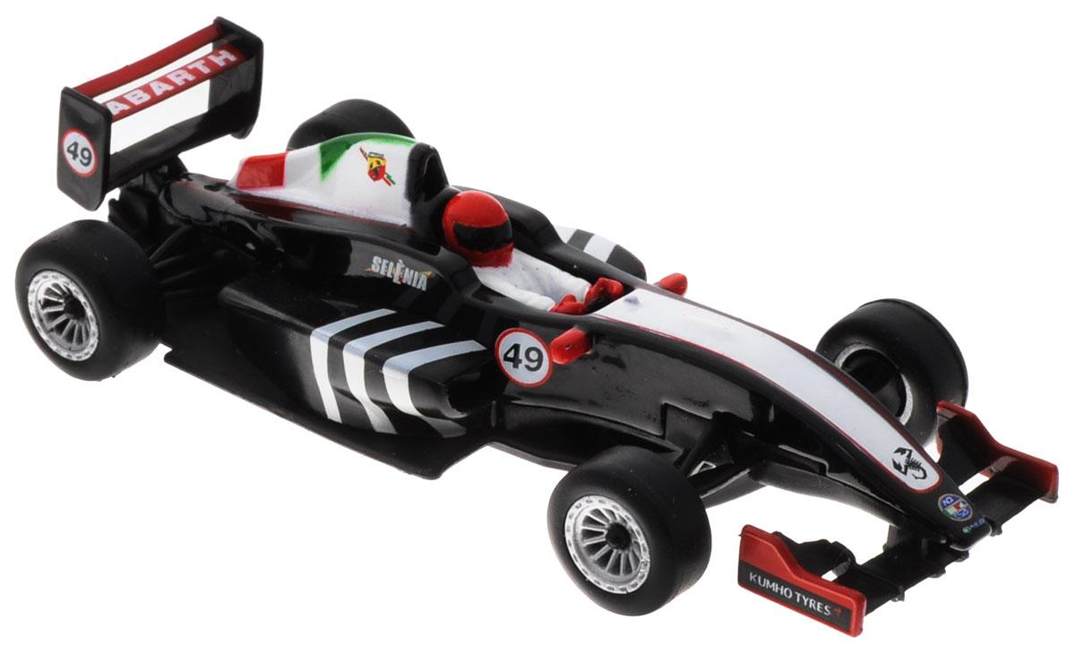 Bburago Модель автомобиля Formula Abarth цвет черный белый красный abarth tales толстовка