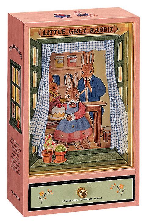 Trousselier Музыкальная шкатулка Little Grey Rabbit цвет розовый -  Предметы интерьера