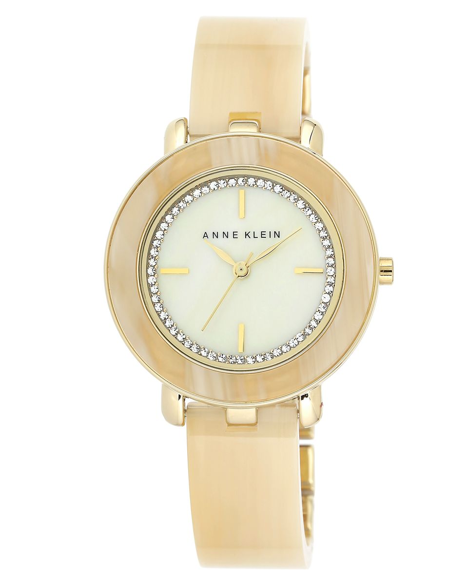 Наручные часы женские Anne Klein, цвет: бежевый. 1972CMHNBM8434-58AEОригинальные и качественные часы Anne Klein