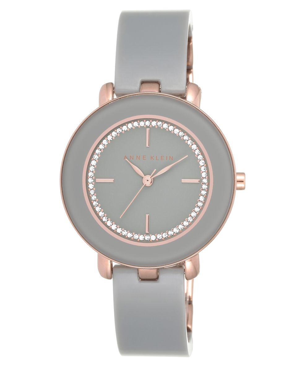 Наручные часы женские Anne Klein, цвет: серый. 1972RGGYML597BUL/DОригинальные и качественные часы Anne Klein