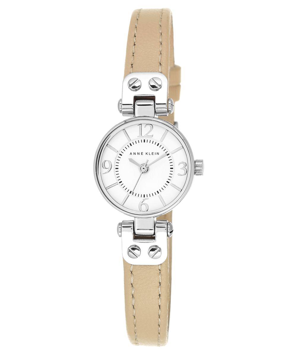 Наручные часы женские Anne Klein, цвет: серый металлик, бежевый. 2031WTTNBM8434-58AEОригинальные и качественные часы Anne Klein