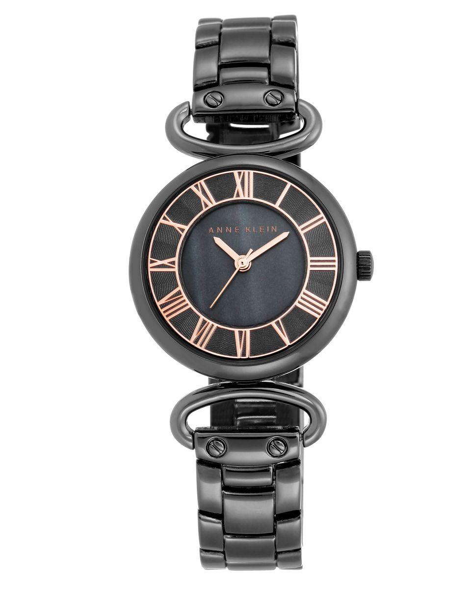 Наручные часы женские Anne Klein, цвет: черный. 2123GMRTBM8434-58AEОригинальные и качественные часы Anne Klein