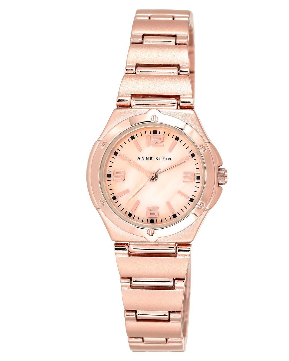 Наручные часы женские Anne Klein, цвет: золотистый, розовый. 8654RMRGBM8434-58AEОригинальные и качественные часы Anne Klein