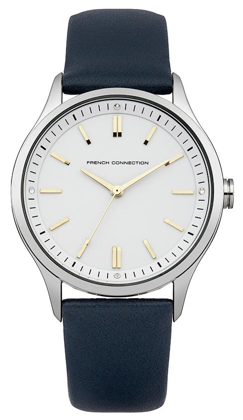Zakazat.ru: Наручные часы мужские French Connection, цвет: серый металлик, темно-синий. FC1245U