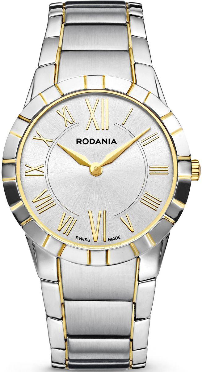 Наручные часы мужские Rodania, цвет: серый металлик, серый. 2507982BM8434-58AEОригинальные и качественные часы Rodania