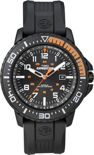 Наручные часы мужские Timex, цвет: черный. T49940BM8434-58AEОригинальные и качественные часы Timex