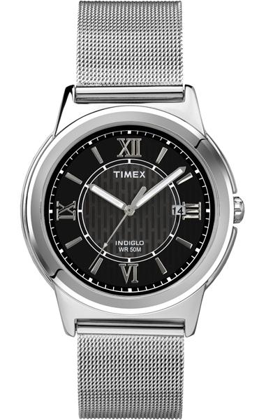 Наручные часы женские Timex, цвет: серый металлик, серый. T2P519BM8434-58AEОригинальные и качественные часы Timex