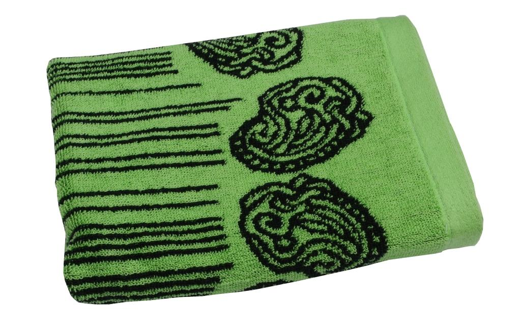Полотенце махровое Toalla Аква, цвет: зеленый, 50 x 90 см68/5/3Махровое полотенце Аква 50х90 см. Продукция высокого качества, сделана из натурального материала, 100% хлопок, прекрасно впитывает влагу.