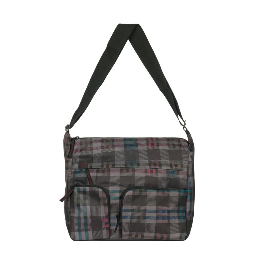 Сумка молодежная Grizzly, цвет: серый, 15 л. MM-600-2/2S76245Молодежная сумка Grizzly имеет одно отделение, плоский передний карман на молнии, задний карман на молнии, внутренний карман на молнии, внутренний карман-органайзер, регулируемый плечевой ремень.