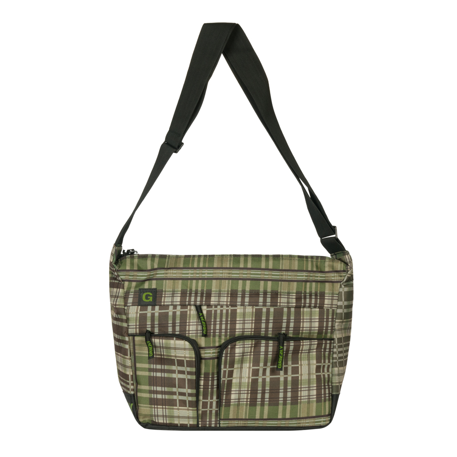 Сумка молодежная Grizzly, цвет: черный, 15 л. MM-600-2/43-47670-00504Молодежная сумка Grizzly имеет одно отделение, плоский передний карман на молнии, задний карман на молнии, внутренний карман на молнии, внутренний карман-органайзер, регулируемый плечевой ремень.