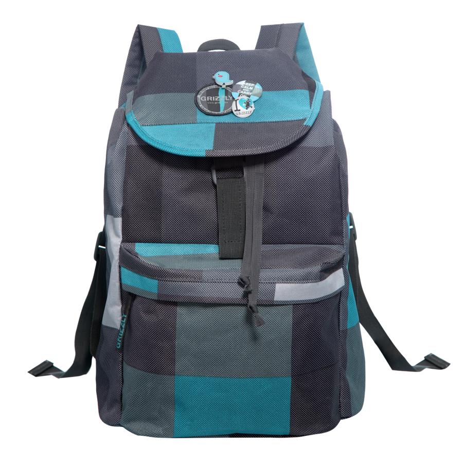 Рюкзак городской Grizzly, цвет: серый , 22 л. RD-646-4/8 рюкзак городской grizzly цвет сиреневый 22 л rd 645 1 2