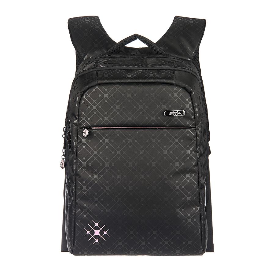 Рюкзак городской Grizzly, цвет: черный, 20 л, 21 л. RD-649-1/1 чемодан grizzly цвет фиолетовый черный 40 л lt 595 20 3