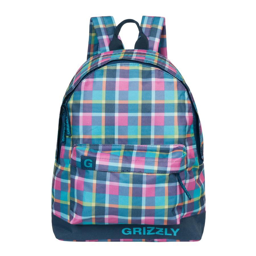 Рюкзак городской Grizzly, цвет: голубой, 26 л. RU-600-1/3KZ24483402Рюкзак молодежный, одно отделение, объемный карман на молнии на передней стенке, внутренний подвесной карман на молнии, укрепленная спинка, дополнительная ручка-петля, укрепленные лямки