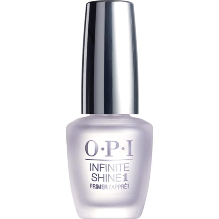 """OPI Infinite Shine Base Coat Базовое покрытие для ногтей, 15 мл28032022""""Линия Infinite Shine была разработана в ответ на желание покупателей получить лаковые покрытия, по свойствам не уступающие гелевым, которые при этом имели бы самые модные оттенки, обладали уникальной формулой и носили культовые имена, которыми так знаменита компания OPI,"""" - объясняет Сюзи Вайс-Фишманн, соучредитель и исполнительный вице-президент OPI. """"Покрытие Infinite Shine наносится и снимается точно так же, как и обычные лаки для ногтей, однако вы получаете те самые блеск и стойкость, которые отличают гелевую формулу!"""" Палитра Infinite Shine включает в себя широкий спектр оттенков, от нейтральных до ярко-красных, оранжевых, розовых, а далее до темно-серых, синих и черного. Лаки Infinite Shine имеют запатентованную формулу. Каждый флакон снабжен эксклюзивной кистью ProWide™ для идеального нанесения."""