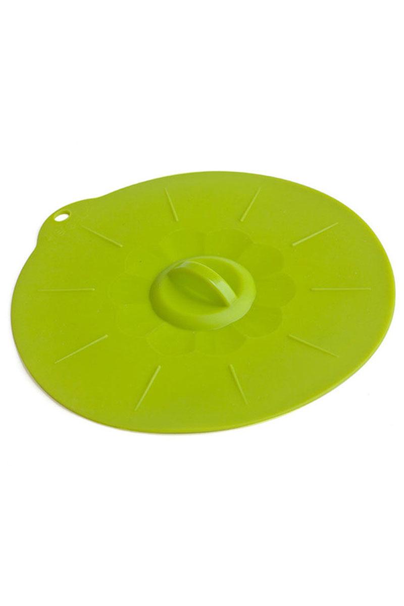 Крышка силиконовая Calve, цвет: салатовый. Диаметр 24 см54 009312Крышка Calve выполнена из пищевого силикона. Она предназначена для герметичного закрытия любой посуды. Крышка плотно прилегает к краям емкости, ограничивая доступ воздуха внутрь, благодаря этому ваши продукты останутся свежими гораздо дольше. Основные свойства: - выдерживает температуру от -40°С до +230°С, - невозможно разбить, - легко моется, - не деформируется при хранении в свернутом виде, - имеет долгий срок службы, сохраняя свой первоначальный вид, - не выделяет вредных веществ при нагревании или охлаждении, - не впитывает запахи, - не вступает в химическую реакцию с продуктами, - подходит для использования в духовом шкафу и микроволновой печи без использования режима Гриль, морозильной камере и для мытья в посудомоечной машине.