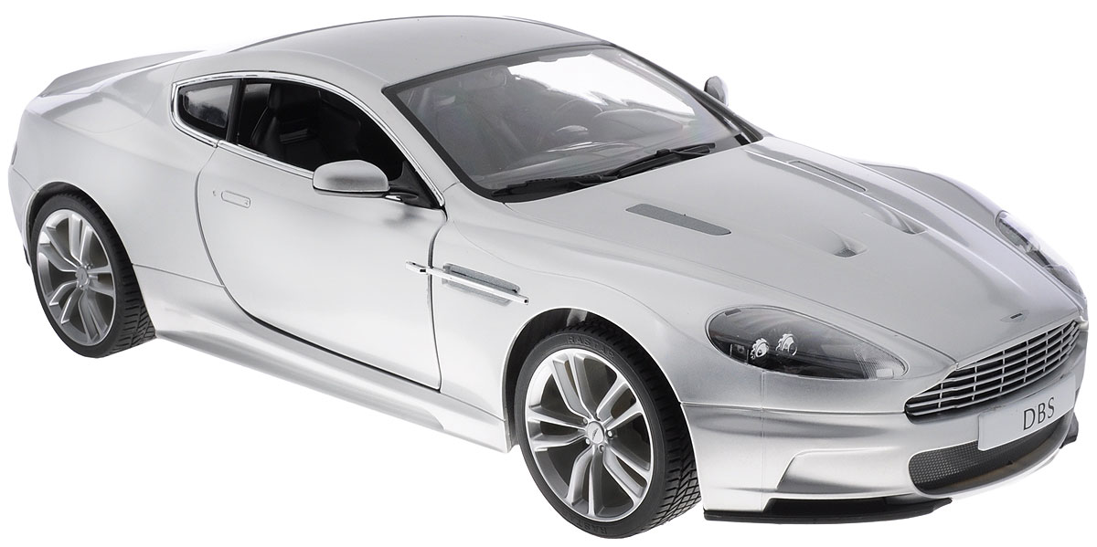 все цены на  Rastar Радиоуправляемая модель Aston Martin DBS Coupe цвет серебристый масштаб 1:10  онлайн