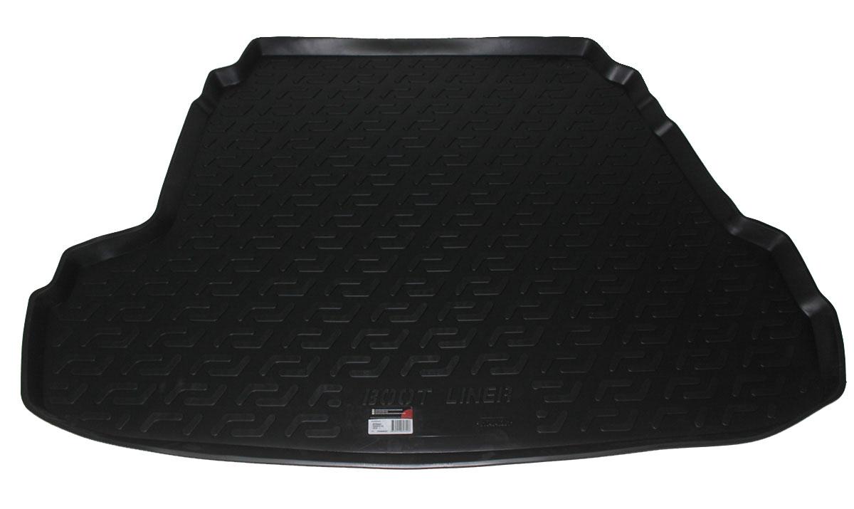Коврик в багажник L.Locker, для Hyundai Sonata i45 (10-)Ветерок 2ГФКоврик L.Locker производится индивидуально для каждой модели автомобиля из современного и экологически чистого материала. Изделие точно повторяют геометрию пола автомобиля, имеет высокий борт, обладает повышенной износоустойчивостью, антискользящими свойствами, лишен резкого запаха и сохраняет свои потребительские свойства в широком диапазоне температур (от -50°С до +80°С).