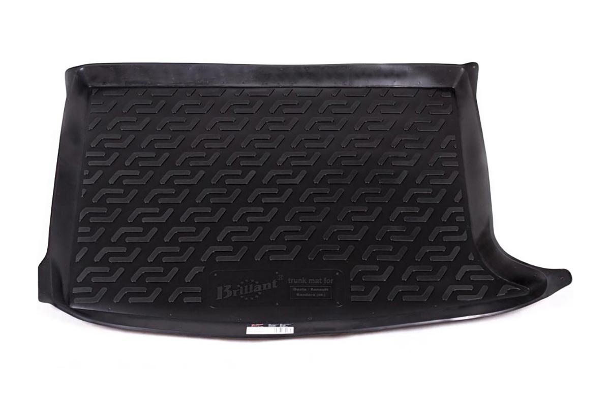 Коврик в багажник L.Locker, для Renault Sandero (09-)0106070101Коврик L.Locker производится индивидуально для каждой модели автомобиля из современного и экологически чистого материала. Изделие точно повторяют геометрию пола автомобиля, имеет высокий борт, обладает повышенной износоустойчивостью, антискользящими свойствами, лишен резкого запаха и сохраняет свои потребительские свойства в широком диапазоне температур (от -50°С до +80°С).