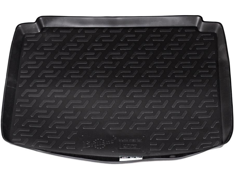 Коврик автомобильный L.Locker для Volkswagen Golf IV hb (-03), в багажникЭРМД-1600ЕКоврики L.Locker производятся индивидуально для каждой модели автомобиля из современного и экологически чистого материала, точно повторяют геометрию пола автомобиля, имеют высокий борт от 4 см до 6 см, обладают повышенной износоустойчивостью, антискользящими свойствами, лишены резкого запаха, сохраняют свои потребительские свойства в широком диапазоне температур (от -50°С до +80°С).