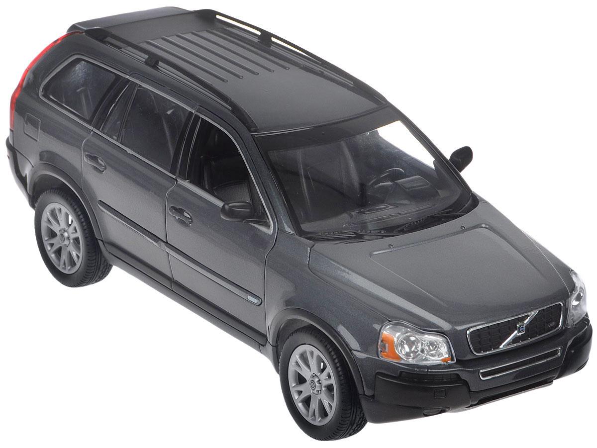 """Модель автомобиля """"Volvo XС90"""" - миниатюрная копия настоящего авто Volvo XС90 в масштабе 1:18. Стильная модель привлечет к себе внимание не только детей, но и взрослых. Модель оснащена колесами из мягкой резины, передние двери автомобиля, багажник и капот открываются. Внутри детально проработаны элементы салона. Такая модель станет отличным подарком не только любителю автомобилей, но и человеку, ценящему оригинальность и изысканность, а качество исполнения представит такой подарок в самом лучшем свете."""