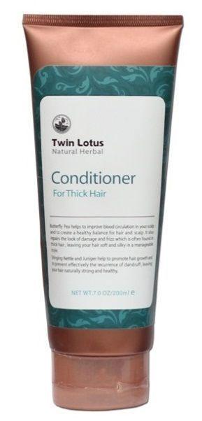 Twin Lotus Кондиционер Natural (Растительный: для густых волос ), 200мл.FS-00897Кондиционер:Экстракткрапивы двудомной и можжевельникаспособствуют ростуволоси эффективно предотвращают появление перхоти, придавая волосам силу, здоровье и блеск.