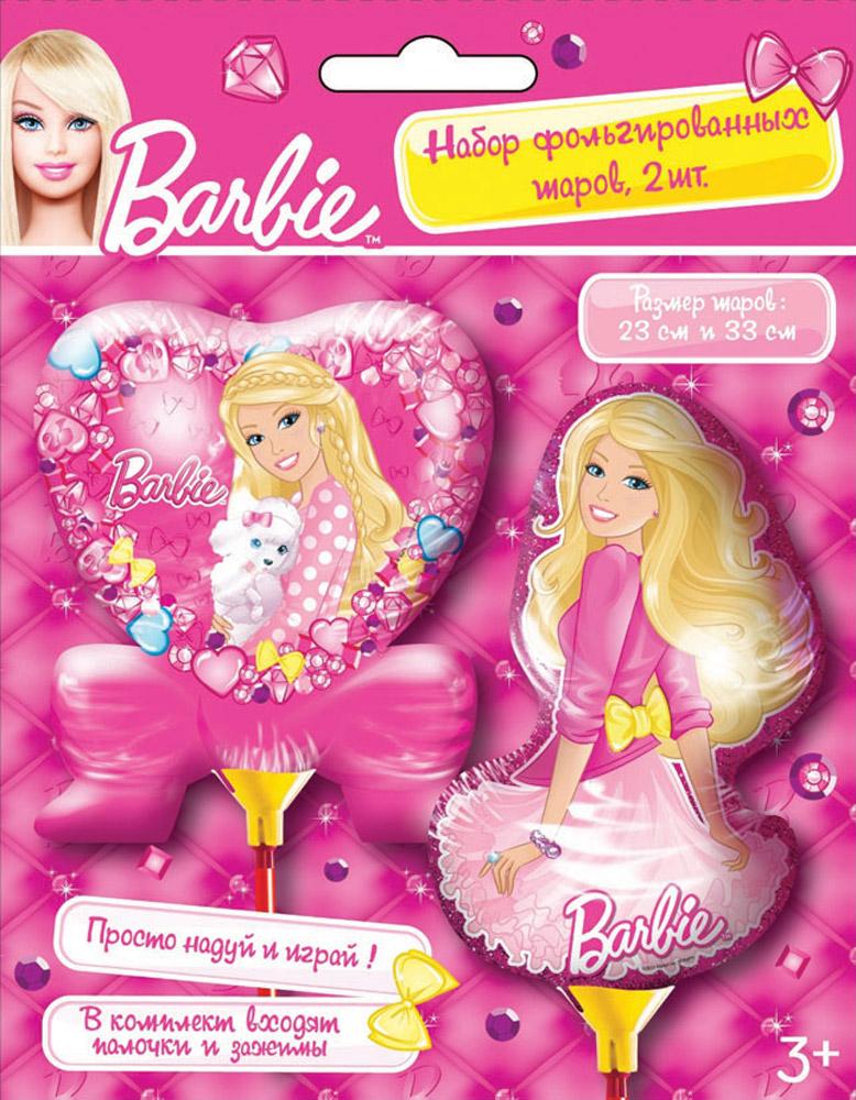 Barbie Шар фольгированный 2 шт