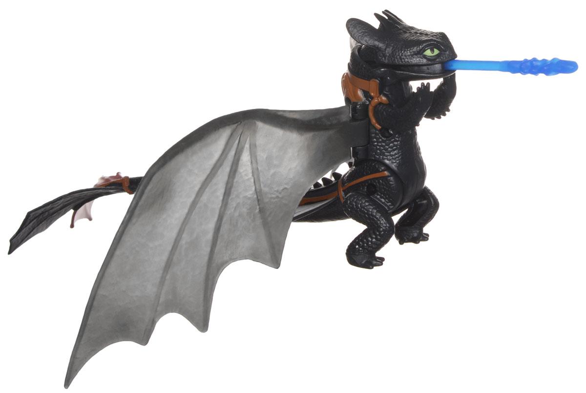 Игрушка Dragons Функциональные драконы: Toothless. 66550 мягкая игрушка dragons плюшевые драконы со звуком 66552 в ассортименте