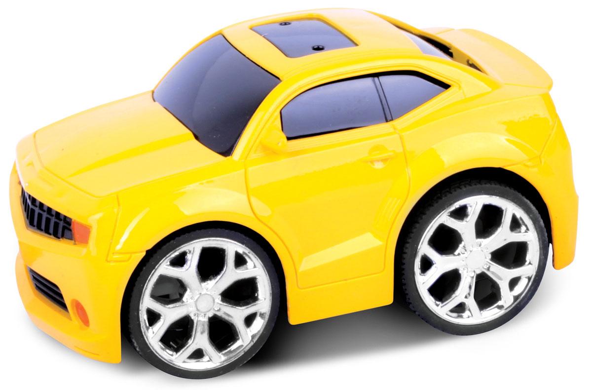 Bluesea Машинка на радиоуправлении Racing Car цвет желтый