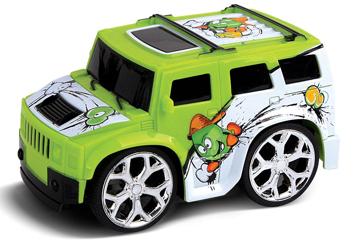 Это один из представителей яркой серии машинок Mini Car. Она проста в управлении, двигается вперед, назад, влево и вправо. Для того, чтобы начать играть, достаточно просто докупить элементов питания для машинки и пульта управления.