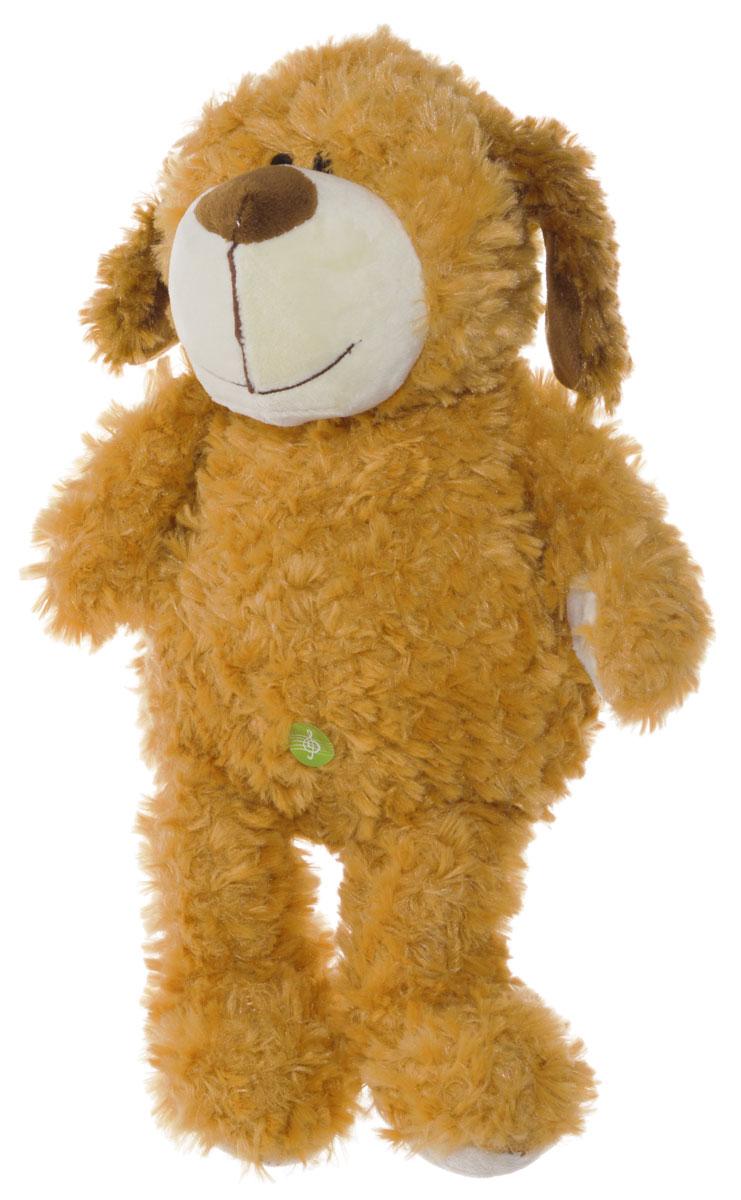 Plush Apple Мягкая озвученная игрушка Собака 36 см мягкая игрушка plush apple собака с шарфом 28 см