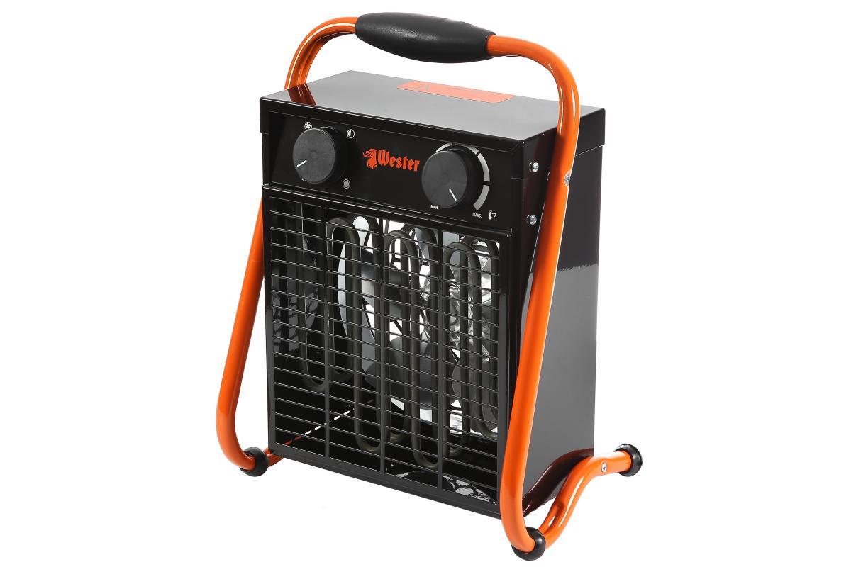 Тепловентилятор электрический Wester TB-3/61,5/3,0кВт0802322005646Тепловентилятор электрический Wester TB-3/61,5/3,0кВт