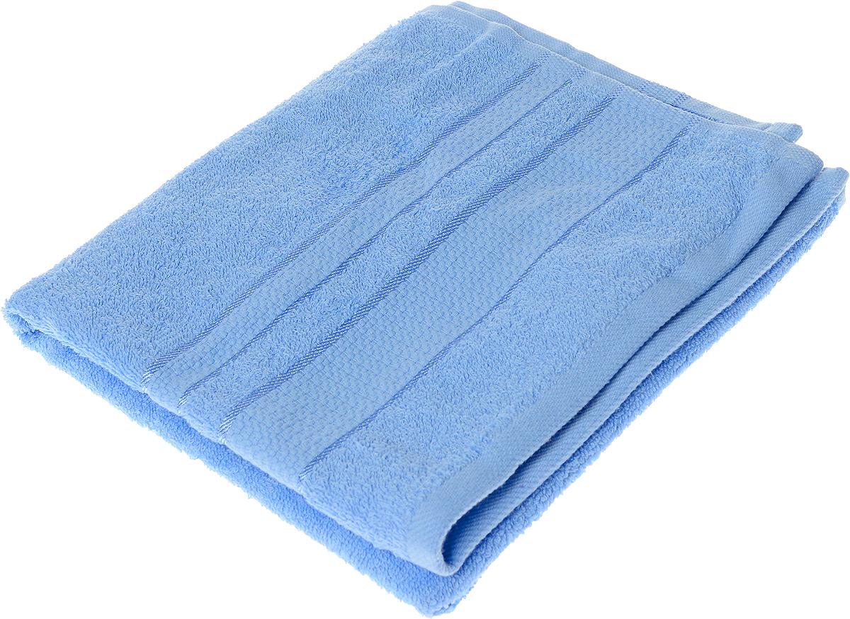 Полотенце махровое Aisha Home Textile Классика, цвет: голубой, 50 х 90 см1004900000360Полотенце Aisha Home Textile Классика выполнено из натуральной махровой ткани (100% хлопок). Изделие отлично впитывает влагу, быстро сохнет, сохраняет яркость цвета и не теряет форму даже после многократных стирок. Полотенце очень практично и неприхотливо в уходе. Оно станет достойным выбором для вас и приятным подарком для ваших близких.