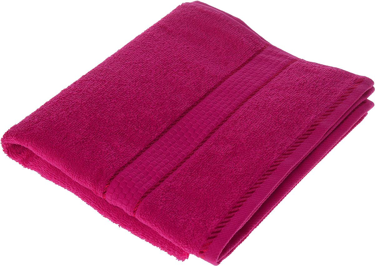 Полотенце махровое Osborn Textile Соты, цвет: темно-розовый, 50 х 90 смCLP446Полотенце Osborn Textile Соты выполнено из натуральной махровой ткани (100% хлопок). Изделие отлично впитывает влагу, быстро сохнет, сохраняет яркость цвета и не теряет форму даже после многократных стирок. Полотенце очень практично и неприхотливо в уходе. Оно станет достойным выбором для вас и приятным подарком для ваших близких.