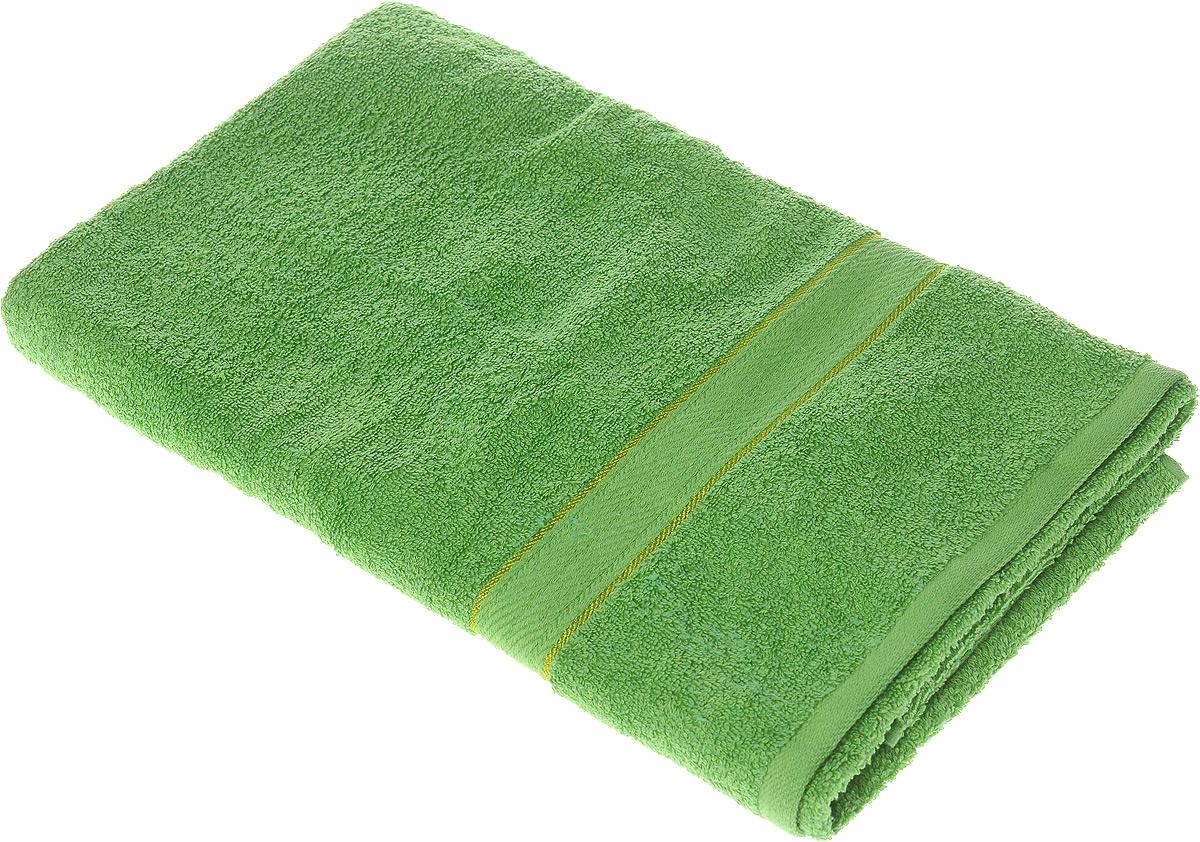 Полотенце махровое Aisha Home Textile Колосок, цвет: зеленый, 70 х 140 см531-401Полотенце Aisha Home Textile Колосок выполнено из натуральной махровой ткани (100% хлопок). Изделие отлично впитывает влагу, быстро сохнет, сохраняет яркость цвета и не теряет форму даже после многократных стирок. Полотенце очень практично и неприхотливо в уходе. Оно создаст прекрасное настроение и украсит интерьер в ванной комнате.